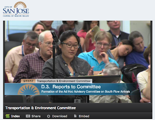 Cupertino City Representative Speaking